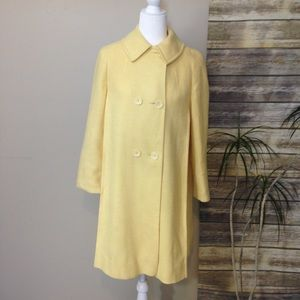 Rothschild Vintage Yellow Pea Coat